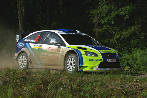 Mikko Hirvonen - Rally Japan 2006