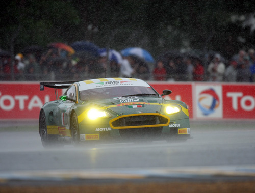 Aston Martin race team - Le Mans 2007