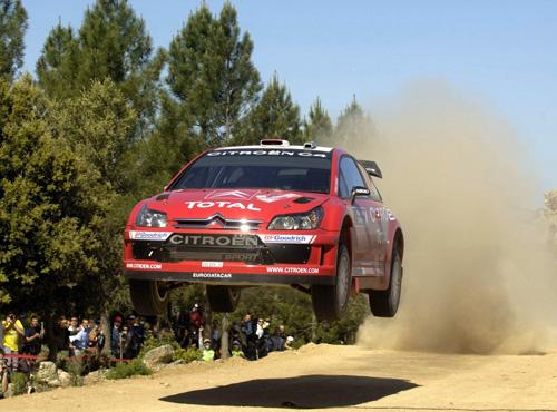 Daniel Sordo - Sardinia Rally 2008