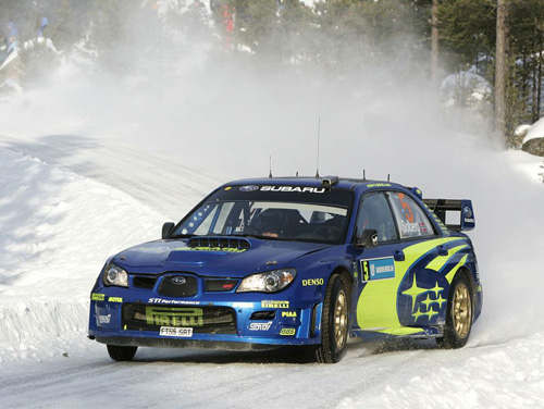 Petter Solberg - Finnish Rally 2007