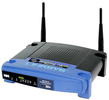 Link sys WRT54G router